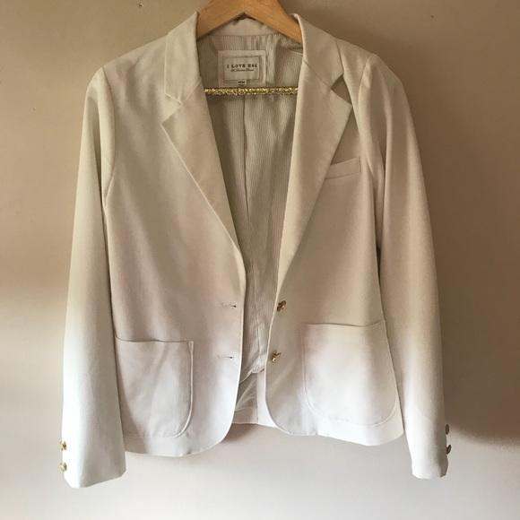 Forever 21 Jackets & Blazers - Forever 21 White Blazer